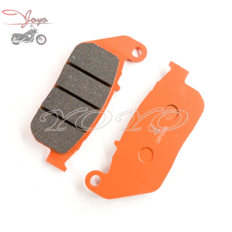 Motorcycle Front Disc Brake Pads For Harley Sportster Roadster XL1200R Custom XL1200C Nightster XL1200N XL1200V XL1200X 72 48