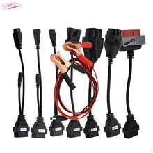 hot sale tcs cdp pro 8 pcs car cables obd2 OBDII Cars Diagnostic Interface Tool Full set 8PC Car Cables For CDP Cable Free ship