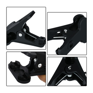 Image 2 - Photography Heavy Duty Muslin Strong Clamps Use for Background Stand Fixed Backdrop Cloth,8Pcs Clips Pack