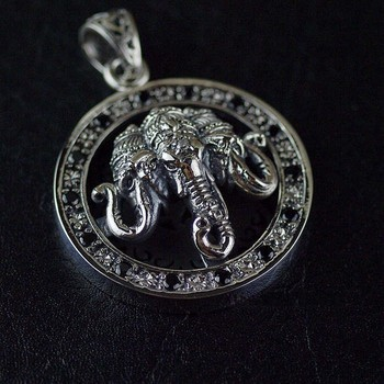 Genuine evil security and peace three gods like  Thai silver pendants