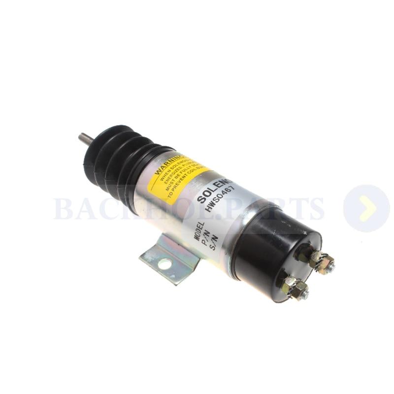 Solenoide de acelerador D610A1V12 D610-A1V12 para Trombetta 12V