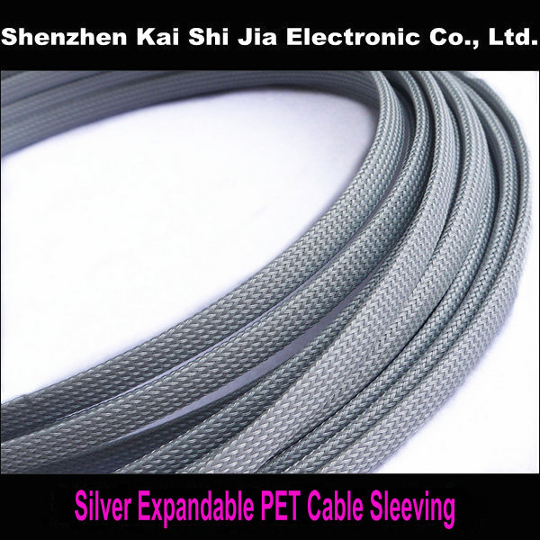 Free Shipping 100M 12mm Expandable Braided High density PET ...