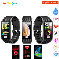 For Samsung Galaxy S10e S10 S10+ Smart Wristband ECG Heart Rate Blood Pressure Fitness Tracker Watch Sports Smart Bracelet Band