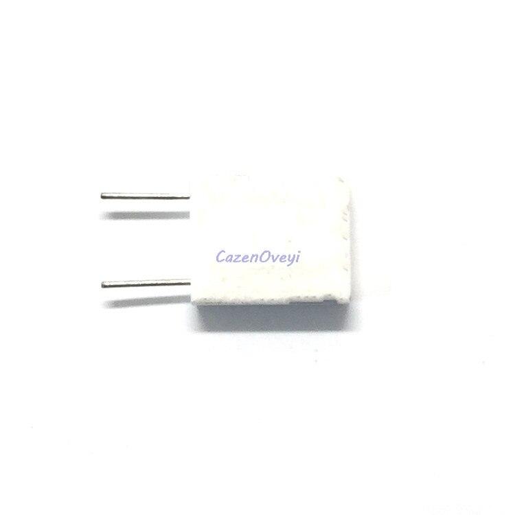 10pcs/lot BPR56 5W 0.1 0.15 0.22 0.25 0.33 0.5 Ohm Non-inductive Ceramic Cement Resistor 0.1R 0.15R 0.22R 0.25R 0.33R 0.5R