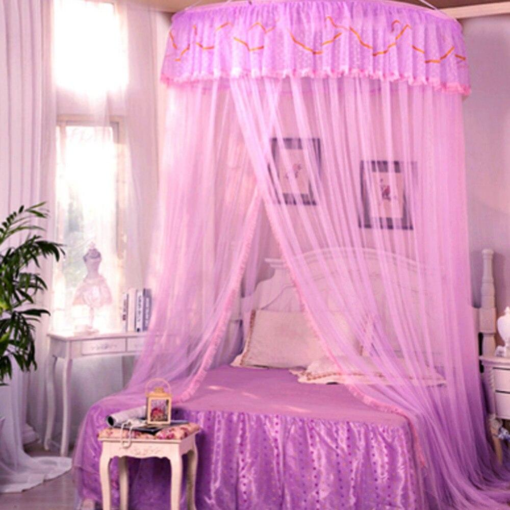 aliexpresscom knig gre floral prinzessin bett baldachin moskitonetz netting schlafzimmer maschengitter von verlsslichen bed canopy lieferanten auf - Prinzessin Bett Baldachin Mit Lichtern