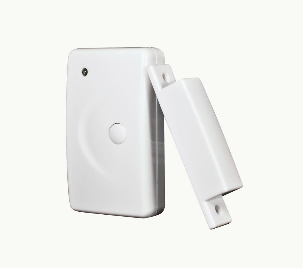 433mhz ev1527 or 433mhz pt2262 Wireless Window/Door Sensor Magnetic Contact with Panic Button Door Sensor for GSM Alarma Casa wireless window door sensor magnetic contact w emergency button 433mhz ev1527 pt2262 door window detector anti thief home alarm