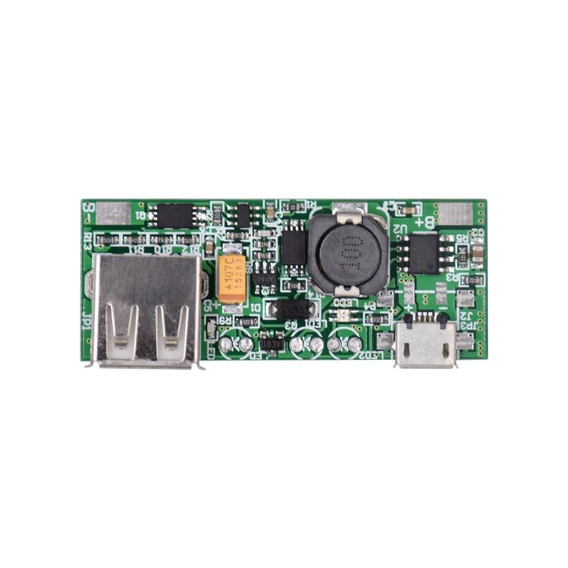 10pcs/lot 3.7V Li-ion Lithium Battery Mini USB To USB A Power Supply Module Board Charge Module 5V 1A