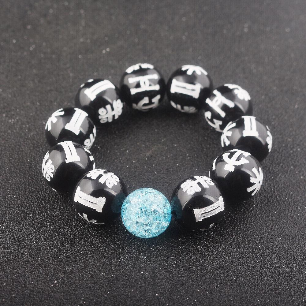 d92d3c9aee4bbc Movie Black panther Charm Rune Crystal Bracelet Wakanda T'Challa KIMOYO Beads  Bracelets for Women Men Accessories Jewelry-in Strand Bracelets from Jewelry  ...