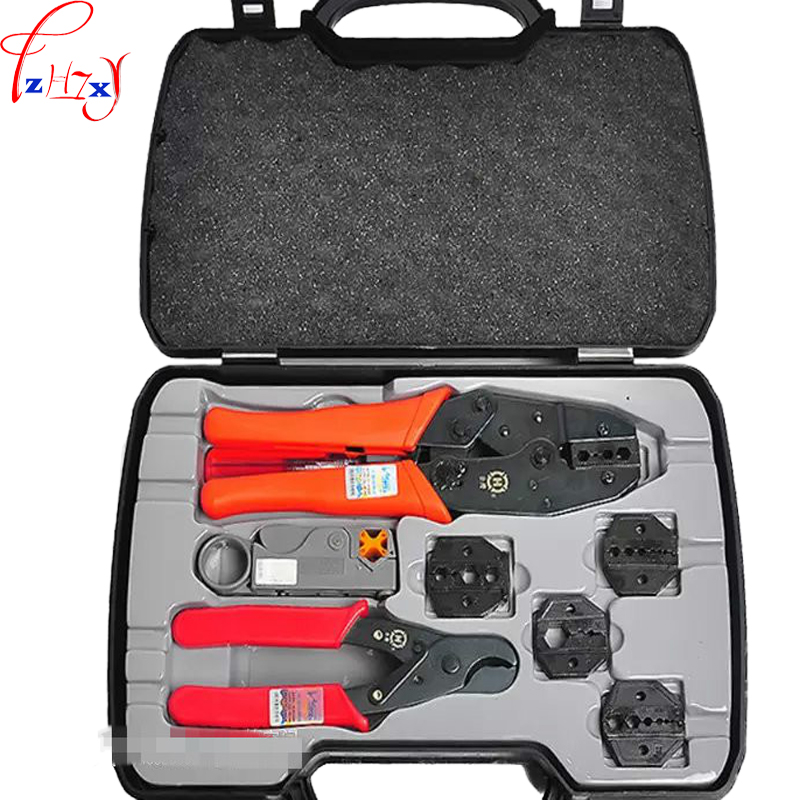 New Connect with the axial compression tool set HT-330K portable BNC coaxial terminal compression tool set 1pc inflatable biggors wholesale price inflatable bouncer slide with pool for water park