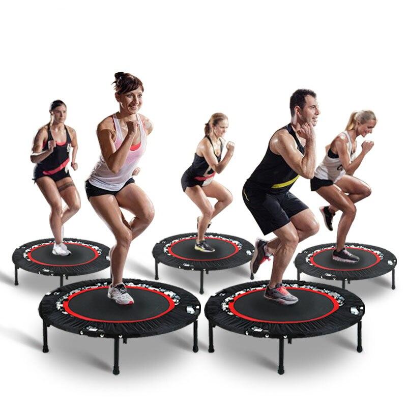 Techsport Trampoline enfants 40 pouces Trampoline pour divertissement intérieur Trampoline adulte pour Fitness Max. Belastung: 150 kg