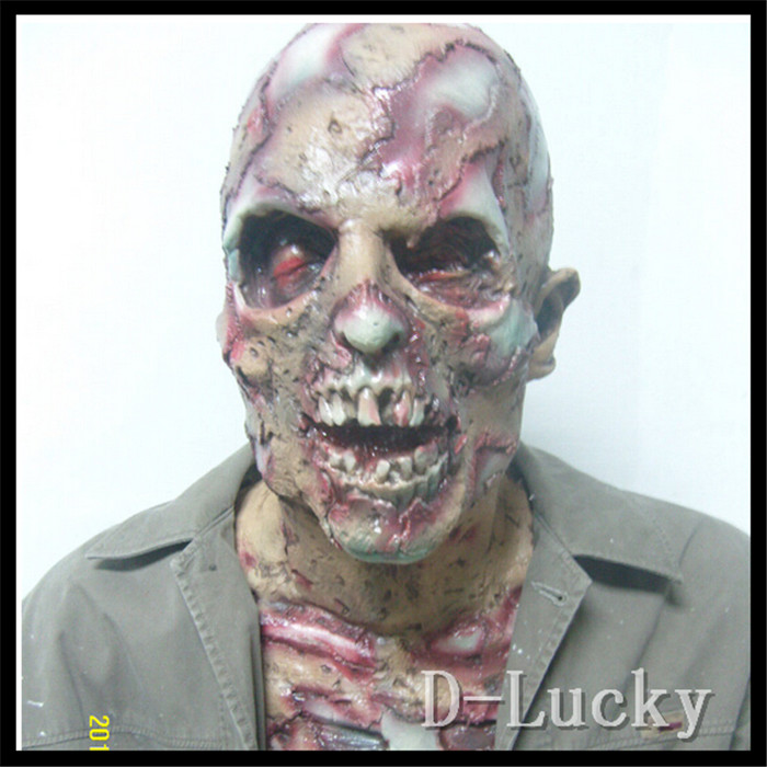 Halloween Party Cosplay Devil Ghost Halloween Rubber Latex Scary Mask Made For Halloween Props Zombie Demon Ghost Skull Mask