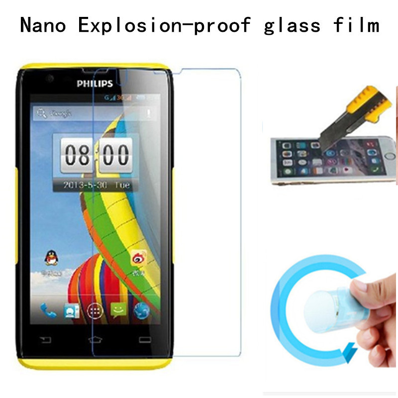 Hight Quality Nano Explosion-proof Soft glass Protective Film for Philips Xenium W6500 /W6500 Screen Protector
