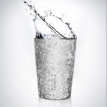 Feijian 400ml Pure Titanium Mug Coffee Beer Cola Tea Juice Cup Bacteriostatic effect double wall vacuum mug drinkwaregift box цена