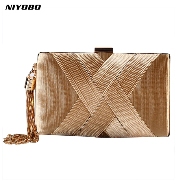 1fb85269a6cb 2018 women clutch bag female silk envelope purse evening clutch bag designer  Luxury Party Gold Wedding Clutches Bags