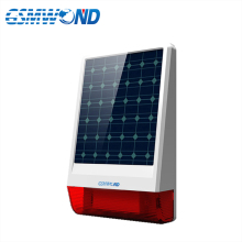 Outdoor Waterproof 315MHz Wireless Solar Siren For EARYKONG GSMWOND NiWoolf M2B M2E GSM Alarm System Home