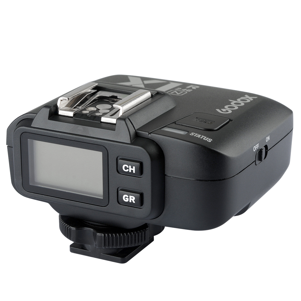 ФОТО Godox X1R-N TTL 2.4G Wireless Flash Trigger Receiver for  X1N Trigger Transmitter for Nikon DSLR Camera