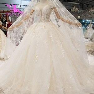 Image 5 - Aijingyu simples vestido branco loja de luxo china vestidos de noivado bola wear para a noiva venda on line vestidos de noiva do vintage