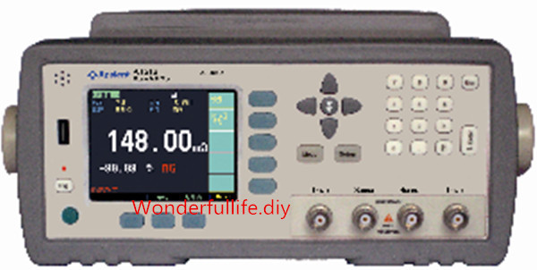 Hi accuracy 0 05 DC Resistance Meter Micro Ohm Meter Tester 1u 20M Ohm RS232 Handler