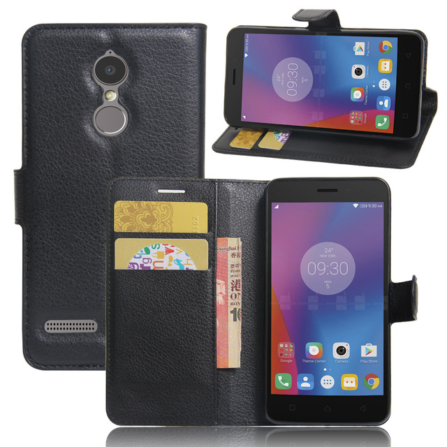 size 40 0b018 49297 US $3.24 20% OFF|Luxury Phone Protective Funda Case For Lenovo K6 Power  K33a42 Flip Cover Wallet Leather Bags Skin Capa For Lenovo Vibe K6 Cases-in  ...