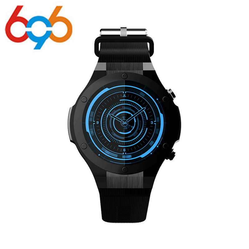 696 H2 Smart Watch MTK6580 Life Waterproof 1.4 inch 400*400 GPS Wifi 3G Heart Rate Monitor 1GB+16G For Android IOS PK KW88 new h1 smart watch mtk6572 ip68 waterproof 1 39inch 400 400 gps wifi 3g heart rate monitor 4gb 512mb for android ios camera 500w