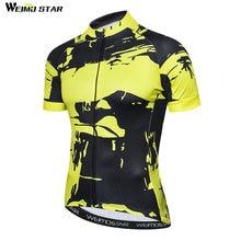 2018 Велоспорт Джерси Мужская велосипедная Одежда mtb Блуза