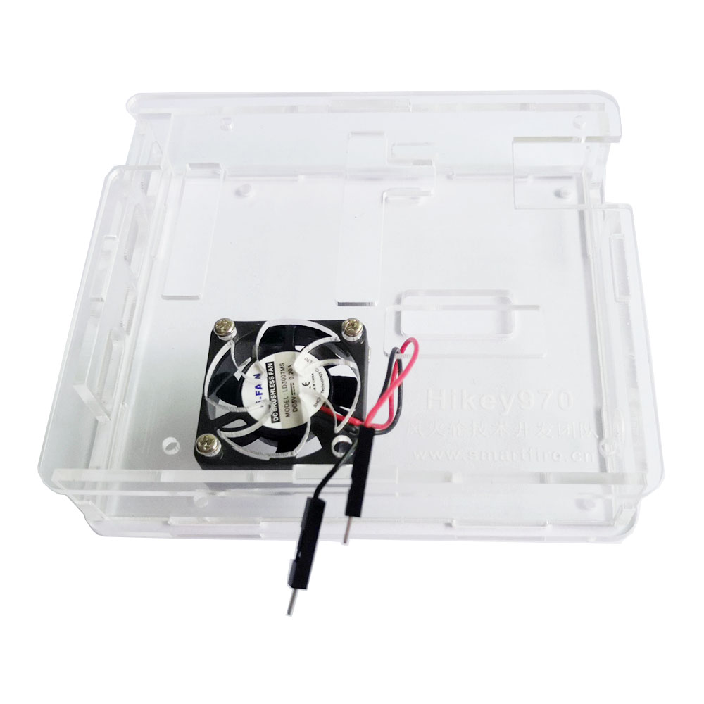Clear Acrylic Case For Hikey 970 Development Board