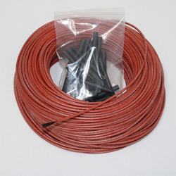 12K 10 to 100 Meters Floor Warm Heating Cable 33Ohm Carbon Fiber Heating Wires