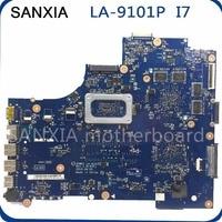 SHELI original LA 9101P laptop motherboard for DELL 3521 5521 motherboard VW55C 0VW55C VAW01 LA 9101P mainboard I7 CPU tested