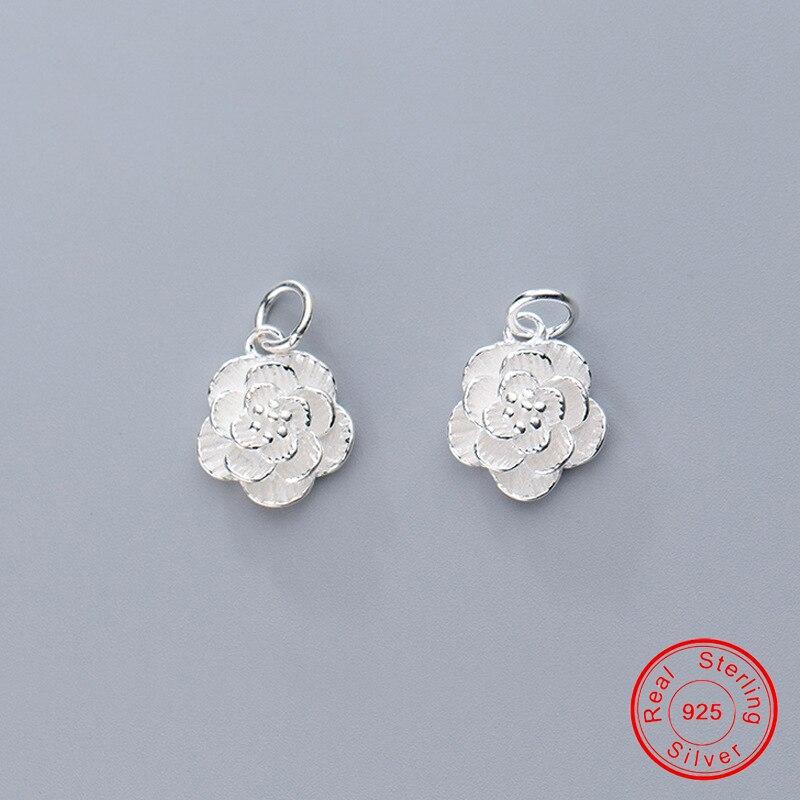 Купить uqbing 100% серебро 925 пробы красивая фотография подходит для