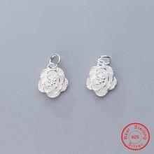Uqbing 100% серебро 925 пробы красивая фотография подходит для