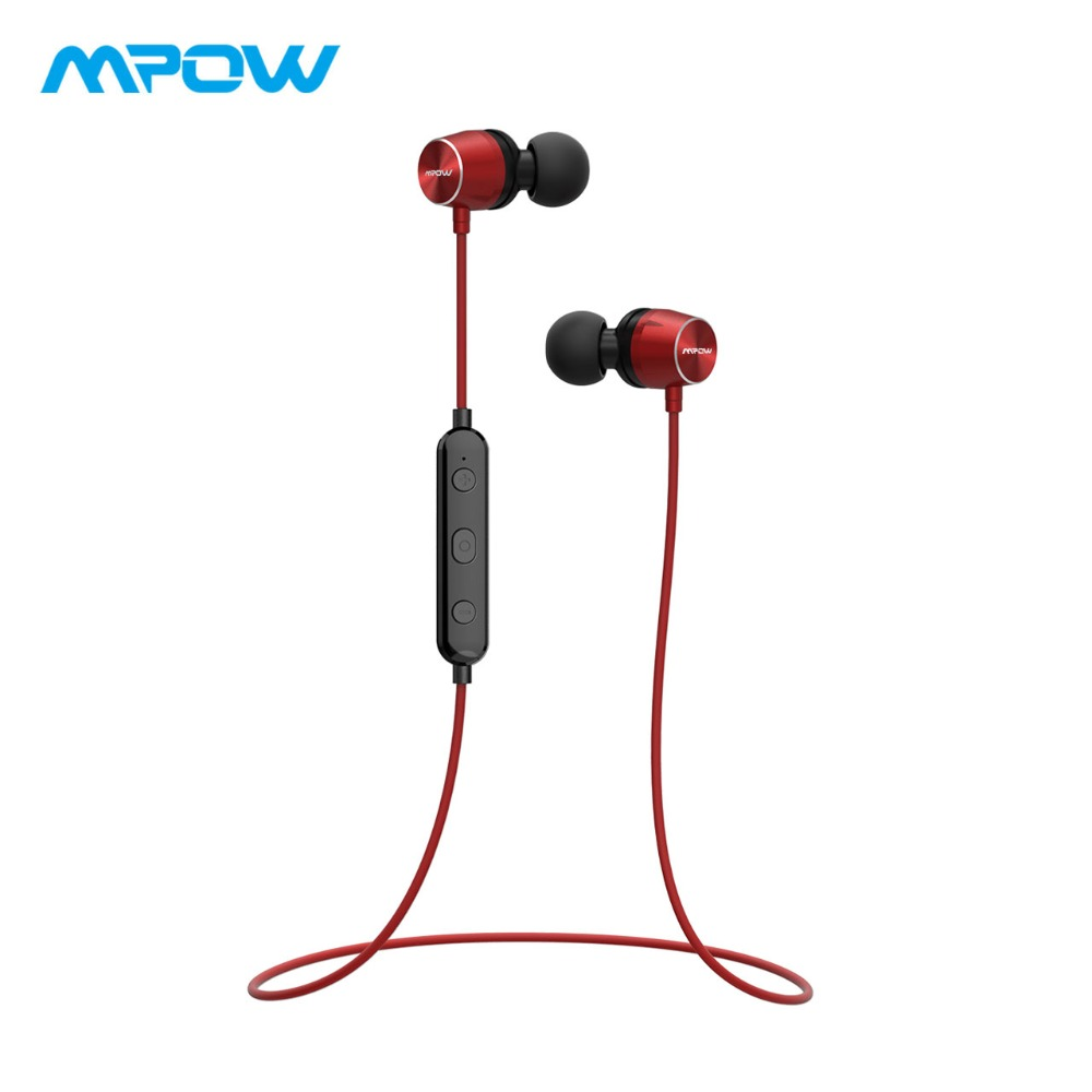 цены Mpow Judge Bluetooth Earphones Magnetic IPX7 Waterproof Sport Earphone Wireless Earbuds With Microphone For iPhone X/8/7/6