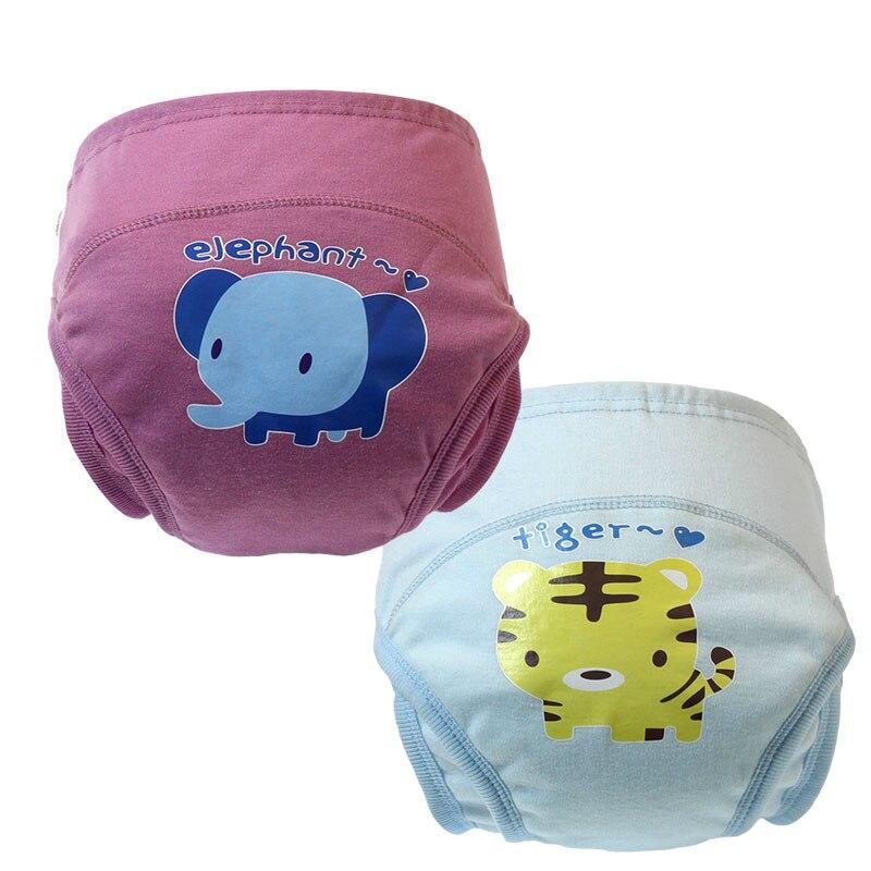 18pc/lot Learning Pants New Cotton Cartoon Designs Jeneral Style For Babies Fashion Anti-side Leakage Underwear Trx0072