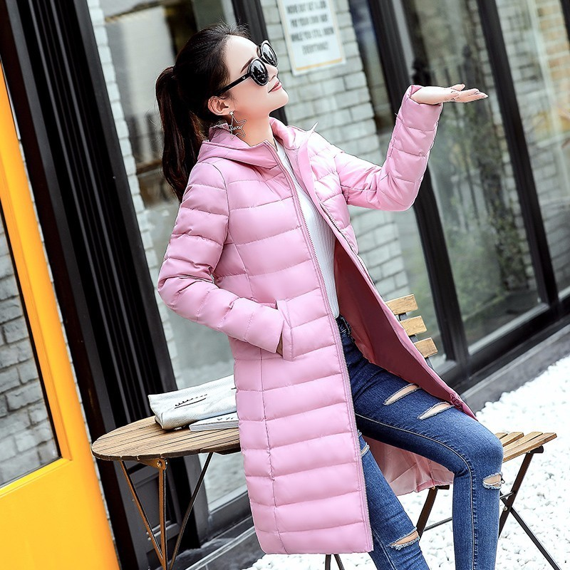 New 2017 Winter Jacket Women Cotton Coat Hooded Parka Female Long Jackets Thick Warm Outerwear Chaqueta Mujer Plus Size 2017 hooded women winter coat jacket female big size outerwear ladies jacket long cotton padded parka chaqueta feminino c3532