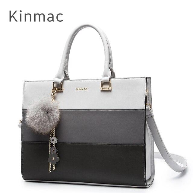 2019 New Brand Kinmac PU Leather Handbag Messenger Bag For Laptop 13 inch, Case For MacBook Air,Pro 13.3
