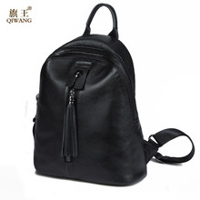 2ee6c40e2d3 Famous Brand Preppy Style Leather Ruched Backpack Bag For Women Casual  Daypacks mochila Female 2 Side Zipper Pocket Bags