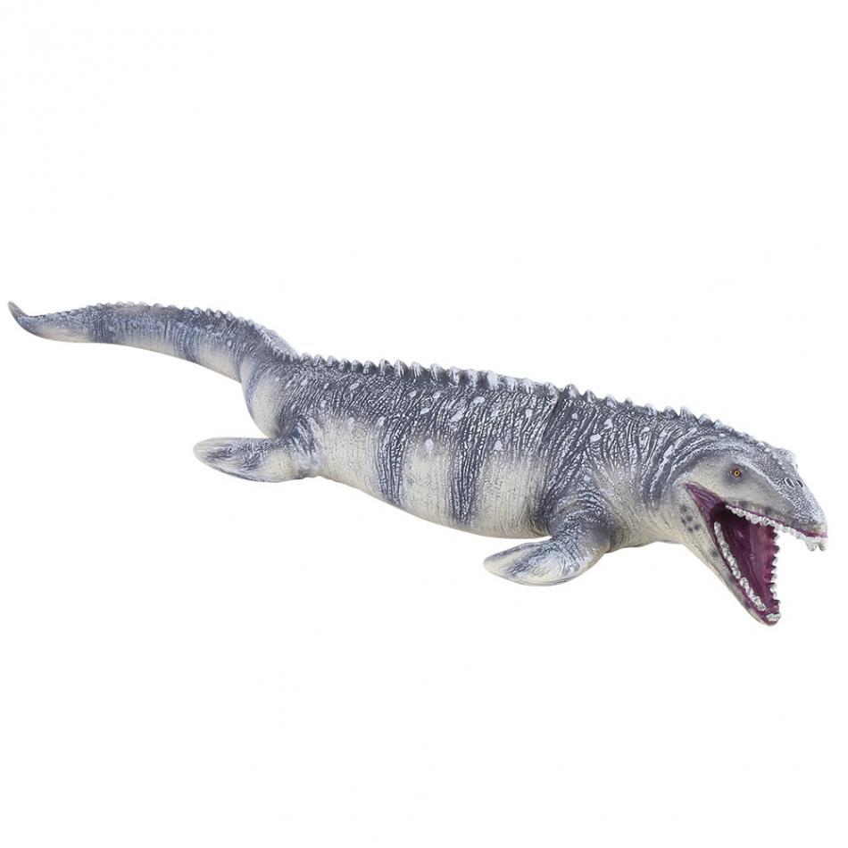 45CM Realistic Mosasaurus Dinosaur Animal Model Figure Dinosaur Miniatures Action Firgures Kids Toys Christmas Gift