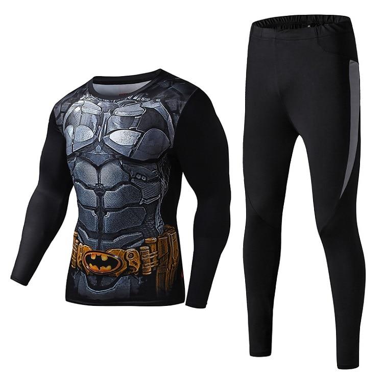 Les hommes de compression chemise manches longues de remise en forme - Sportswear et accessoires - Photo 5