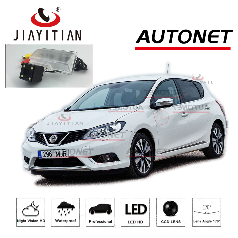 JIAYITIAN Rear Camera for Nissan Pulsar C13 C12 2013 2014~2018 Tiida Russia CCD/Night Vision/ License Plate camera backup camera carburetor carb for nissan a12 cherry pulsar vanette truck datsun sunny b210 pulsar truck 16010 h1602 16010h1602 16010 h1602