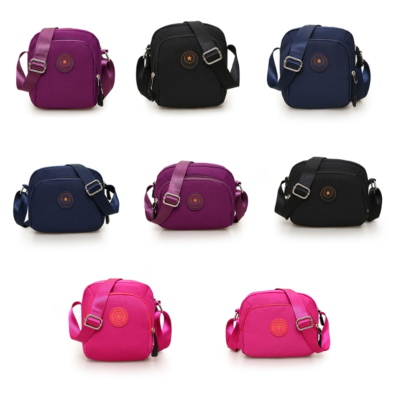 2018 Fashion Women Small Shoulder Bags Canvas Large Capacity Lady Girls Crossbody Travel Casual Messenger Bag Hot New 4 Colors