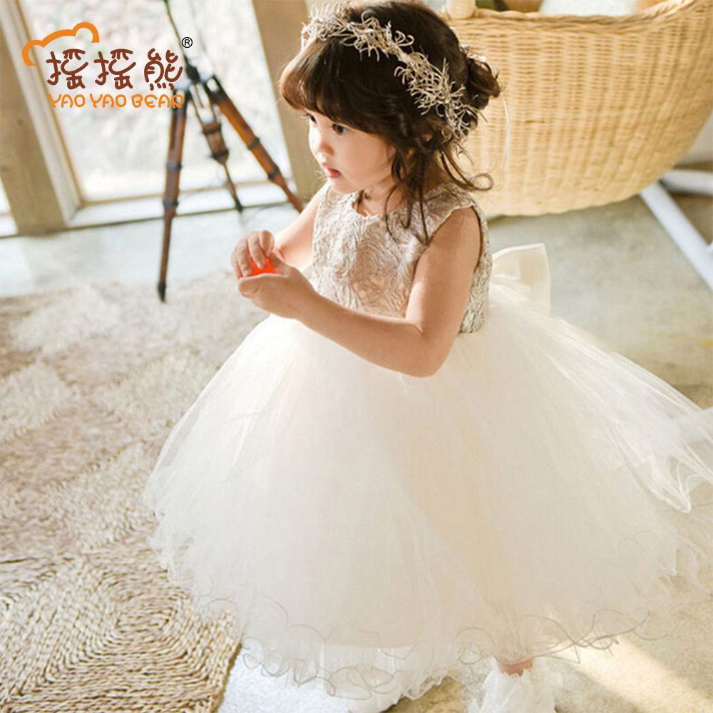 Fashion Girls Dress Embroidery Dresses For Girls Summer Girls Clothes Baby Girl Princess Dress Children Clothing Kids Clothes children dresses 2017 summer fashion style girls lace princess dress kids sleeveless embroidery cute clothes dress for 3 7y