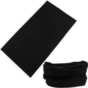 Image 2 - Écharpe de guêtre en laine mérinos noire