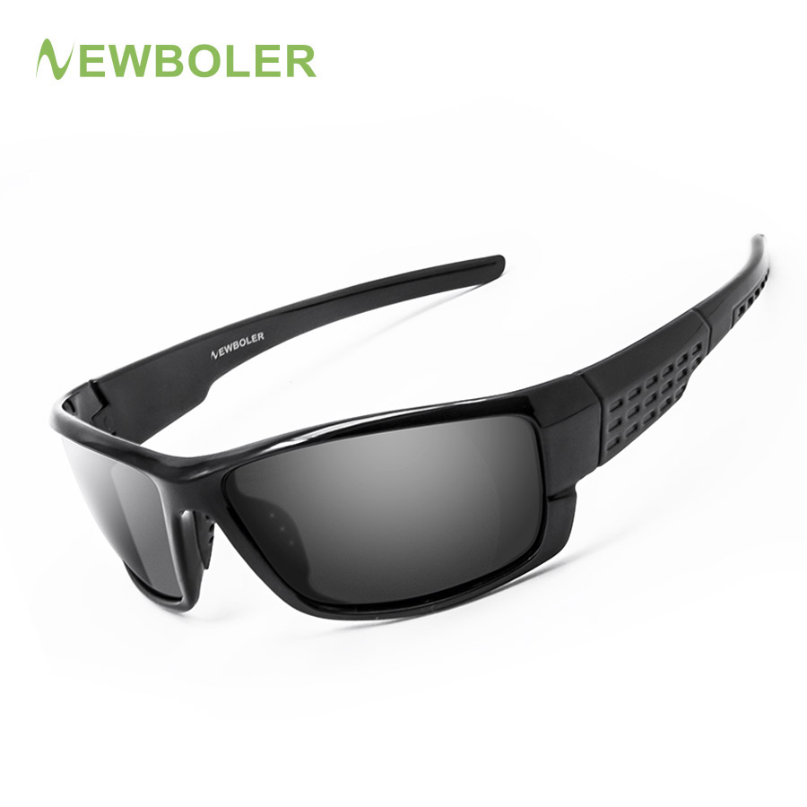 NEWBOLER Sunglasses Men Polarized Sport Fishing Sun Glasses For Men Gafas De Sol Hombre Driving Cycling Glasses Fishing Eyewear beolong brand fashion polaroid sunglasses women men polarized driving alloy sun glasses with case box 5 colors bl369