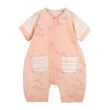 Newborn Baby Boys Girls Romper Short Sleeve Summer Jumpsuit Playsuit Outfits Boy Girl Rompers Round Neck Clothing newborn kids baby rompers i love daddy jumpsuit boys girls romper long sleeve underwear cotton baby boy clothing summer outfits