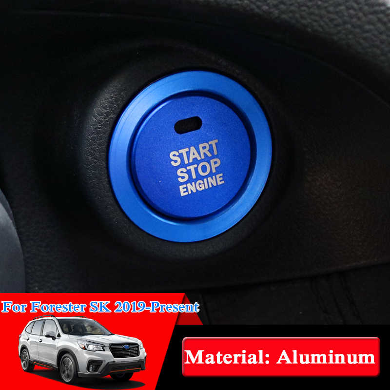 Car styling Ignition Key Ring Switch Cover For Subaru