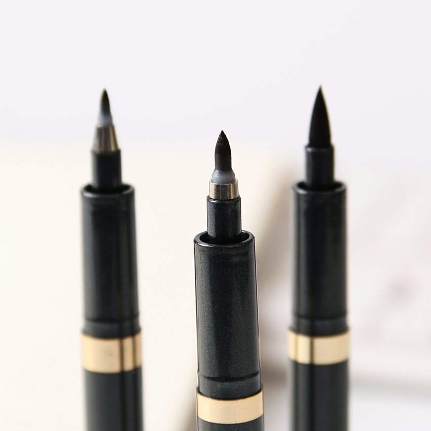 3PCS Unique and Novel Soft Tip Neutral Pen Chinese Calligraphy Pens Office Stationery novel 3