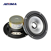 AIYIMA 2 шт. 3 дюйма аудио портативный динамик с полным диапазоном 10 Вт 4 Ом Altavoz портативный динамик DIY HIFI громкий динамик стерео домашний кинотеатр