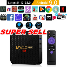 TTVBOX MX10 Pro Android TV Box 4GB 32/64GB Android 9.0