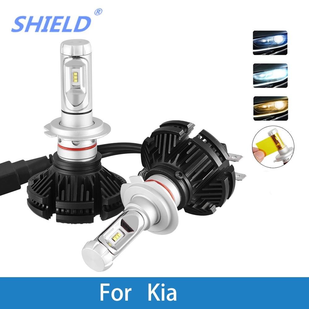 LED voiture phare ampoule H4 H7 H9 H1 H3 9005 12 V 12000LM LED Auto lampe pour KIA Rio Ceed Sportage Soul Sorento Sedona Optima Pregio