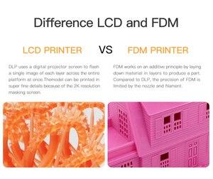 Image 3 - ANYCUBIC 3D Drucker Photon S LCD Schnelle Scheibe 405nm UV Harz Matrix UV Licht Dual Z achse SLA 3d drucker Photonen impresora 3d