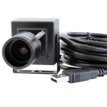 5.0 Megapixel 1/4 CMOS OV5640 MJPEG YUY2 Manual Zoom Varifocal 2.8-12mm Lens Mini Endoscope USB Camera Module Android with case